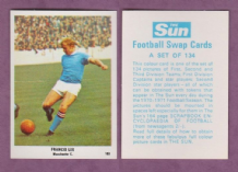 Manchester City Francis Lee England 103